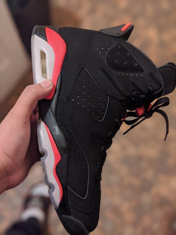 Air Jordan 6 infrared -size 9.5 -