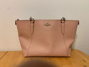 Coach pink tote bag for Sale in Portland, OR