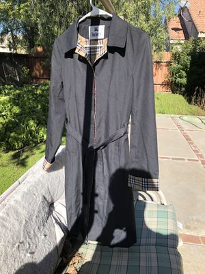 VINTAGE BLACK BURBERRY COAT for Sale in Riverside, CA