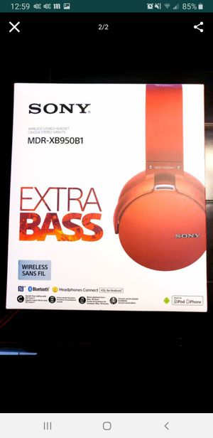 Brand New Sony XB950B1 Headphones for Sale in Spring, TX
