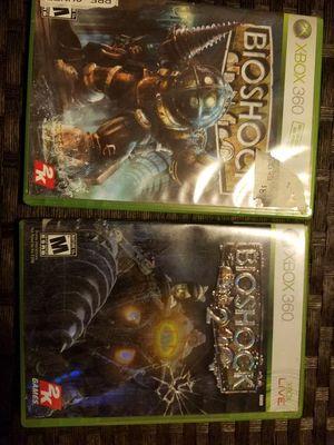 Xbox 360 bioshock 1 & 2 for Sale in Everett, WA