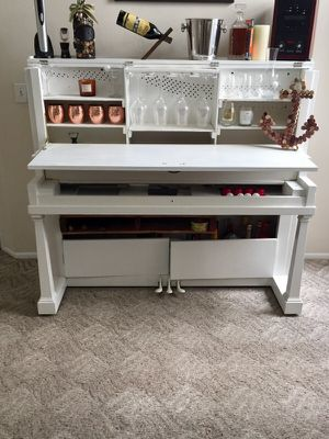 Piano bar liquor cabinet for Sale in West Palm Beach, FL
