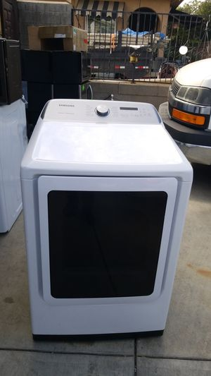 amsung 7.4 cu. ft. White Electric Dryer with Sensor Dry for Sale in Hacienda Heights, CA