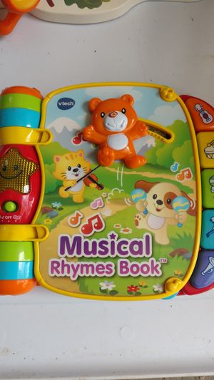 VTech music book for Sale in Brooktondale, NY