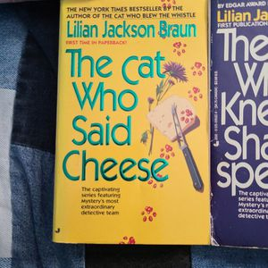 The Cat Who Said Cheese, Lillian Jackson Braun, Paperback for Sale in Kent, WA