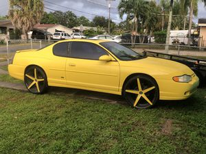 2002 Chevy Monte Carlo ss 3500 for Sale in Opa-locka, FL
