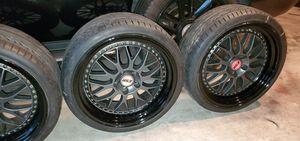 ESR WHEELS 19INCH WITH TIRES for Sale in Lawndale, CA