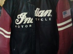 "Leather jacket ""INDIAN MOTORCYCLES"" for Sale in Campbell, CA"