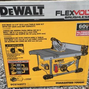 Dewalt 60v Max 8 1/4 Table Saw for Sale in Cleveland, OH