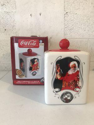 Santa 75th Anniversary Coca-Cola cookie jar for Sale in West Palm Beach, FL