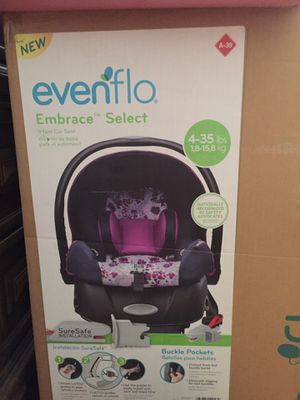 Car seat with base NEW $40 for Sale in Pittsfield, MA
