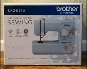 Sewing Machine Brother LX3817A 17-Stitches Full Size Lightweight Sewing Machine Aqua BRAND NEW IN BOX!!!!! for Sale in Kissimmee, FL