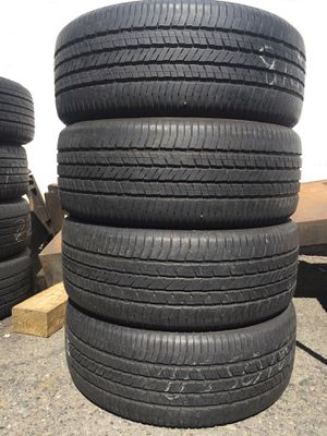 215/50/18 Yokohama set of used tires in great condition 70% tread 200$ for 4 . Installation balance and alignment available. Road force balance avai for Sale in Kenilworth, NJ