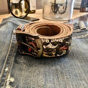 Ed Hardy Men's Leather belt 🐯 for Sale in Winder, GA