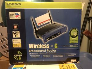Linksys wireless router for Sale in Rosedale, MD