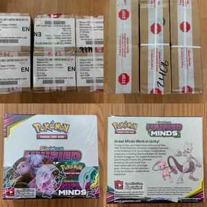 Pokemon Unified Minds Booster Boxes case for Sale in Mountlake Terrace, WA