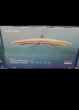 """Brand new Samsung CF39 Series C32F397FWN - 32"""" Curved LED Monitor - FullHD - Glossy White for Sale in Cypress, CA"""