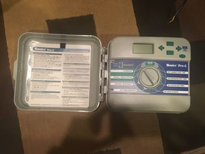 Hunter Pro-C Model 300i sprinkler controller AND Solar Sync for Sale in Ewing Township, NJ