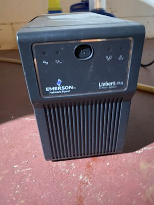 Emerson power backup for desktop computer setup for Sale in Clintonville, WI