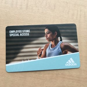 Adidas Employee Store Pass *LIMITED QUANTITY* for Sale in Vancouver, WA