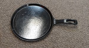 """Enameled Cast Iron Skillet 10 1/2"""" Round Griddle Nuwave P2 Pan for Sale in Burlington, NC"""