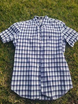 Burberry short sleeve button down shirt for Sale in Antioch, CA
