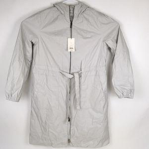 New Women's Rain Jacket Gray Ice M Anorak (Tarpon Springs) for Sale in Tarpon Springs, FL