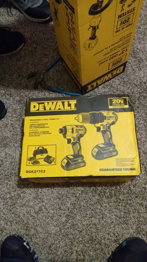 DeWalt combo set impact & compact drill for Sale in Antioch, CA