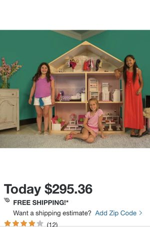 Huge Doll House for 18 inch dolls (American Girl). My Girl's Dollhouse for Sale in Lakewood, CA