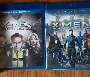 X-men First Class + Days of Future Past Blu ray for Sale in Fresno, CA