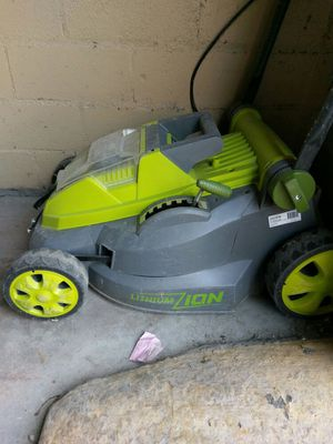 Electric lawn mower, sunjoe for Sale in Dallas, TX