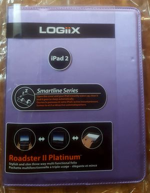 Roadsters II Platinum iPad 2 Case, High Quality, lavender, I pad cover stand for Sale in Riverside, CA