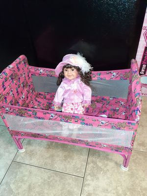 Corralito y doll for Sale in Bloomington, CA
