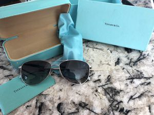 Tiffany and Co. aviator sunglasses. Never worn. for Sale in San Diego, CA