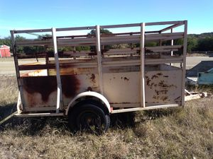 Stock trailer for Sale in Baird, TX