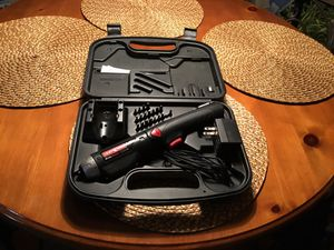 Craftsman Rechargeable Cordless Screwdriver with Multiple Bits for Sale in Virginia Beach, VA