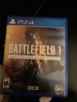 Battlefield 1 for ps4 for Sale in Brandywine, MD