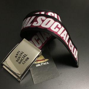 Anti Social Social Club ASSC Hold Me Black Belt Supreme Bape Kith for Sale in Pomona, CA