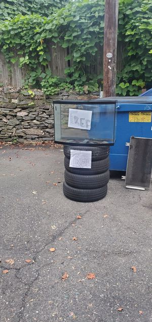 Tires and fish tank for Sale in PLYMOUTH MTNG, PA