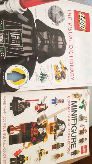 Lego books for Sale in Brownsville, TX