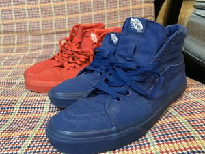 All Blue & Red Vans Sz 10.5 || 30$ Each 55$ Both for Sale in Katy, TX