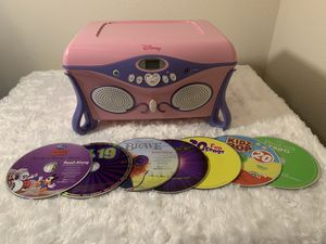Disney Princess CD Player & Jewelry Box (410/Evers) ((Please Read All Info)) for Sale in San Antonio, TX
