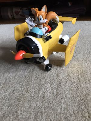 Sonic tails with airplane for Sale in Wilmington, MA