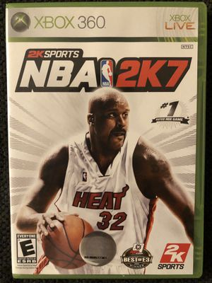 NBA 2K7 (XBOX 360 - Like New) for Sale in Daniels, MD