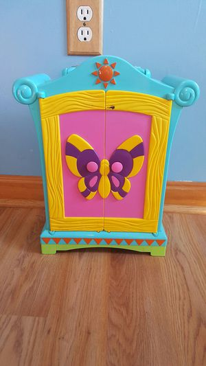 Doll wardrobe cabinet for Sale in Gambrills, MD