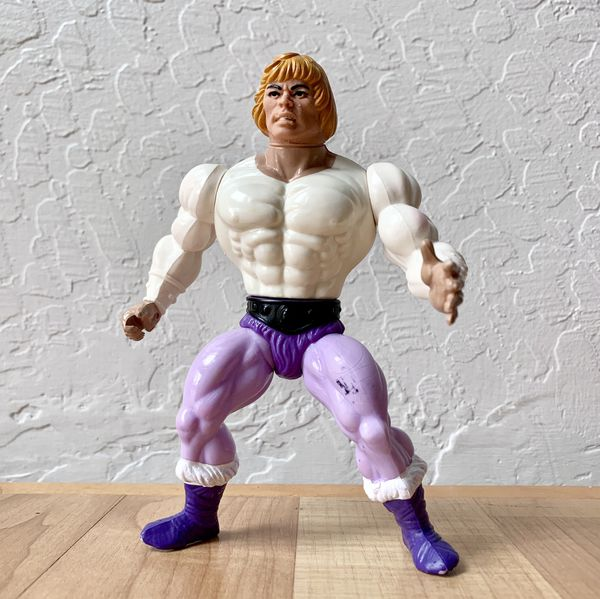 Vintage Heman Masters of the Universe Prince Adam Action Figure Collectable Toy
