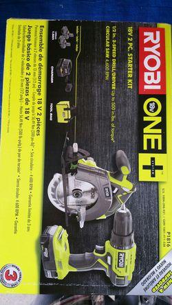 $120. Ryobi Circular Saw / Drill Combo kit for Sale in Evergreen,  CO
