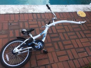 Weeride Tag Along Co Pilot Folding Sync Lynx Bicycle Bike Tandem for Sale in Coral Springs, FL