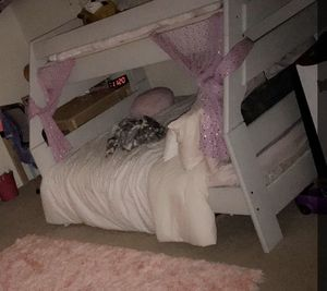 Full/twin bunk bed with stairs for Sale in Phoenix, AZ
