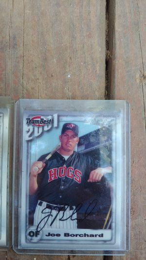 Authentic signed baseball cards for Sale in Inman, SC